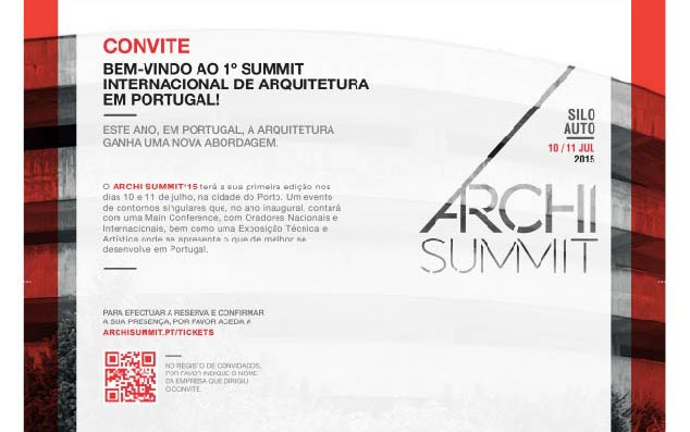 1st Archisummit in Portugal