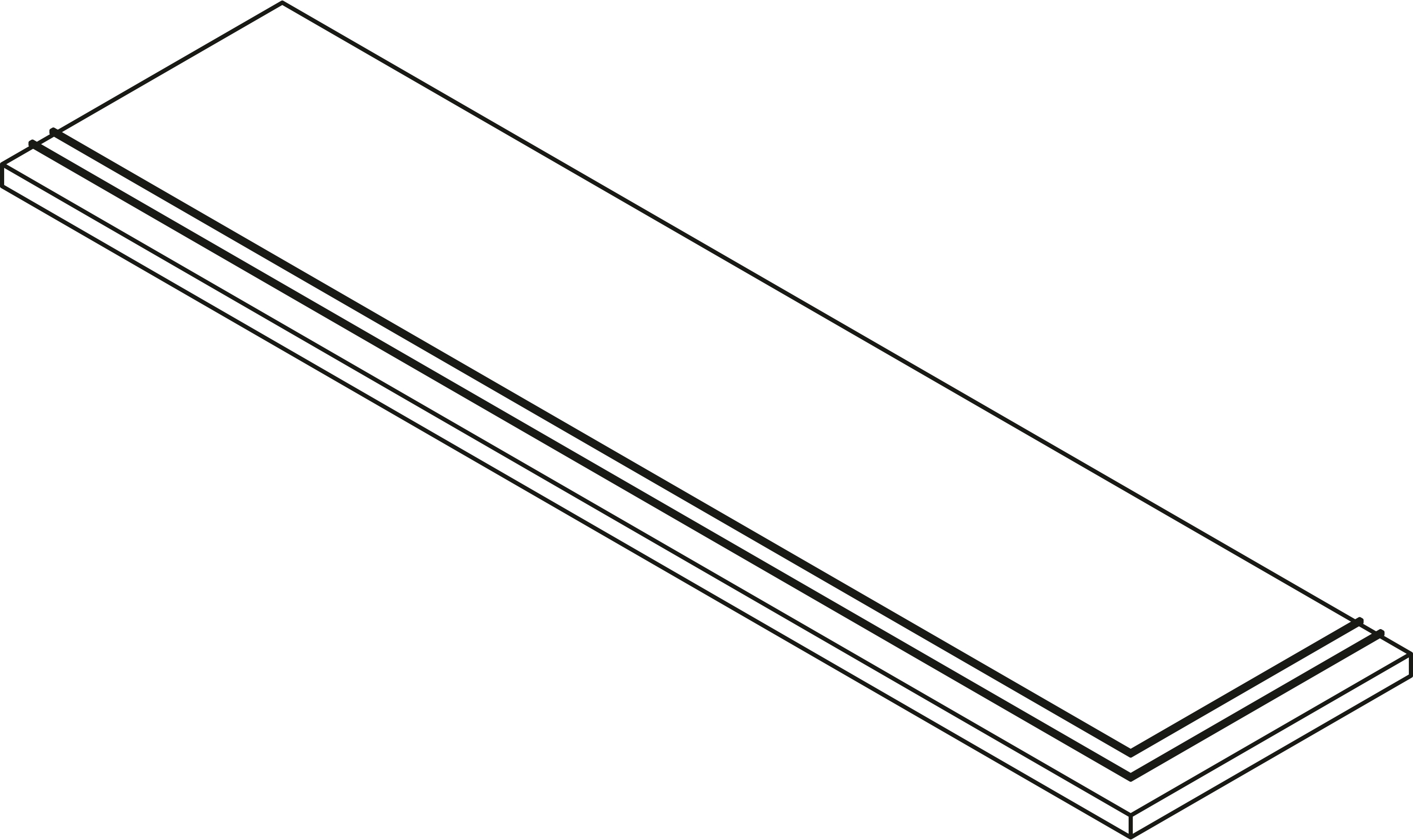 STEP EXTRA THICK CORNER INOX * 30X120