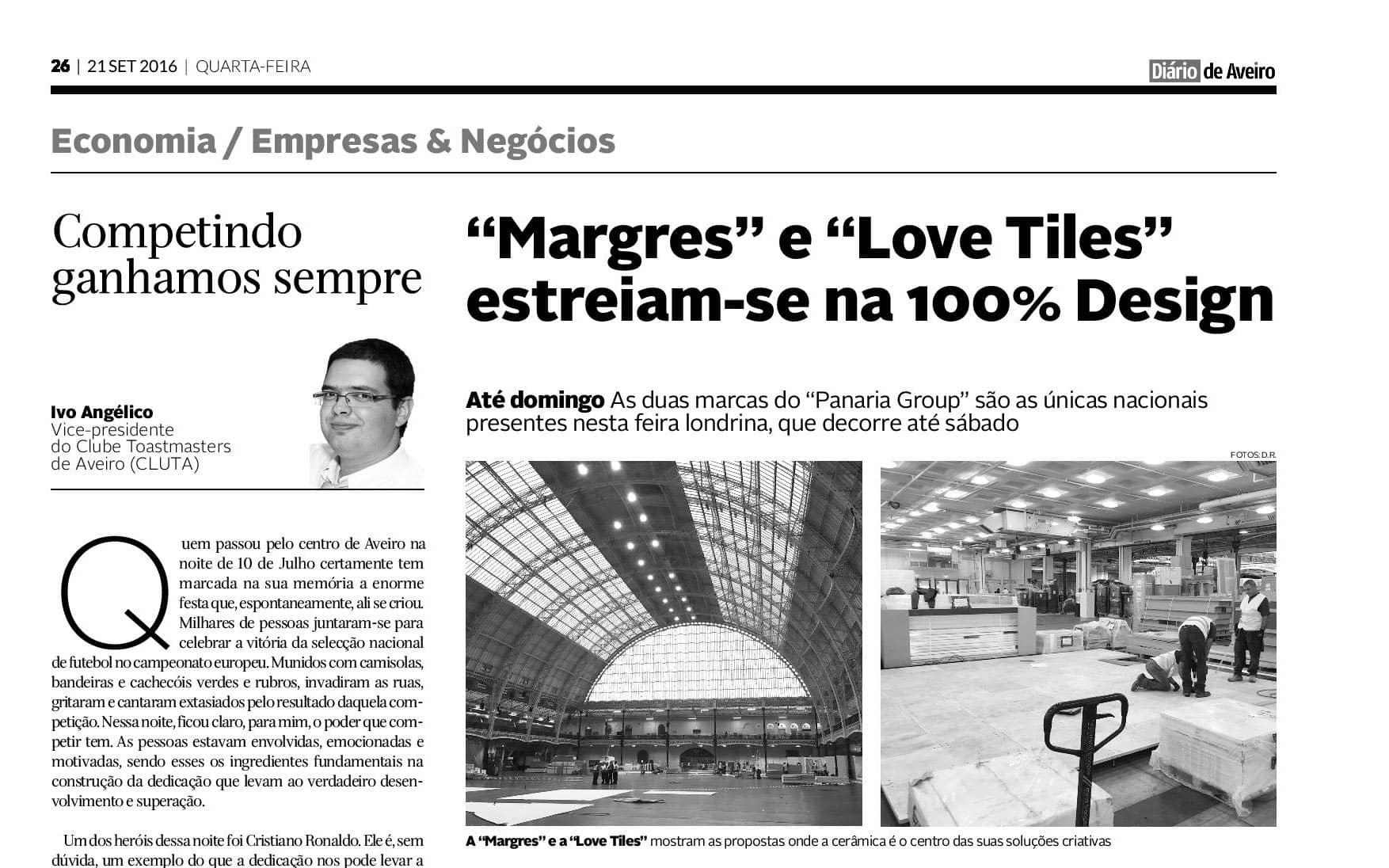 Margres at 100% Design fair in London