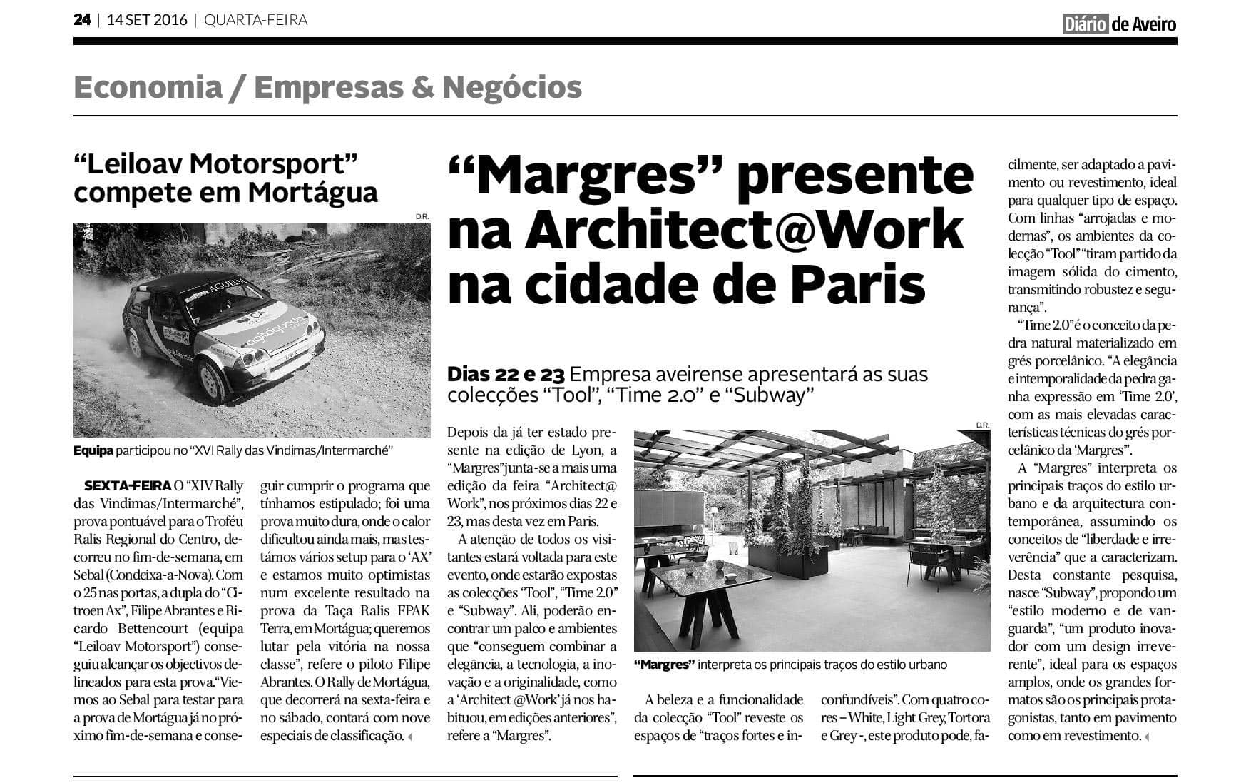Margres na Architect @Work Paris