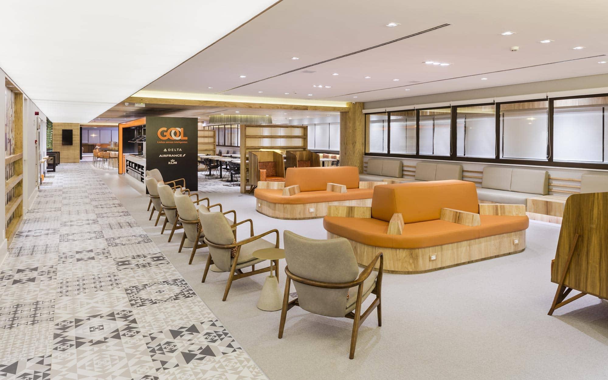 Sala Vip Gol - Aeroporto de Guarulhos