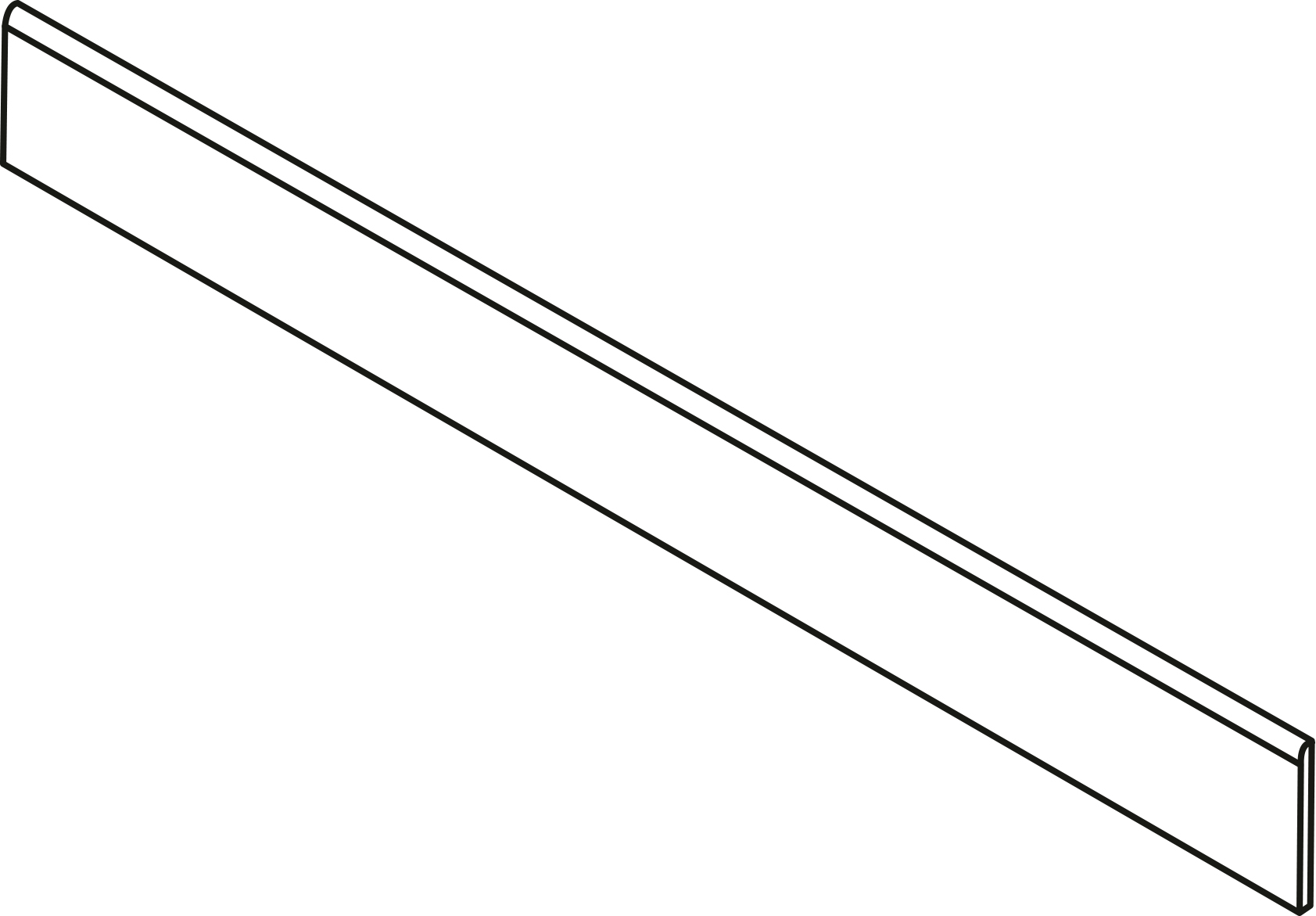 PLINTHE 8X90