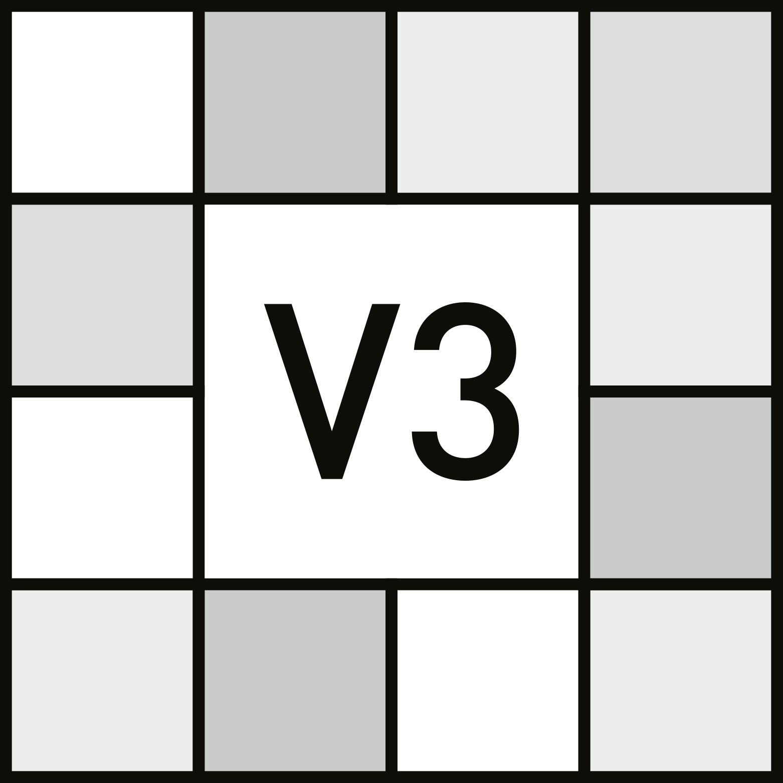 V3 - MÉDIO - Variação moderada. - ANSI A137.1 - Изменение оригинального цвета