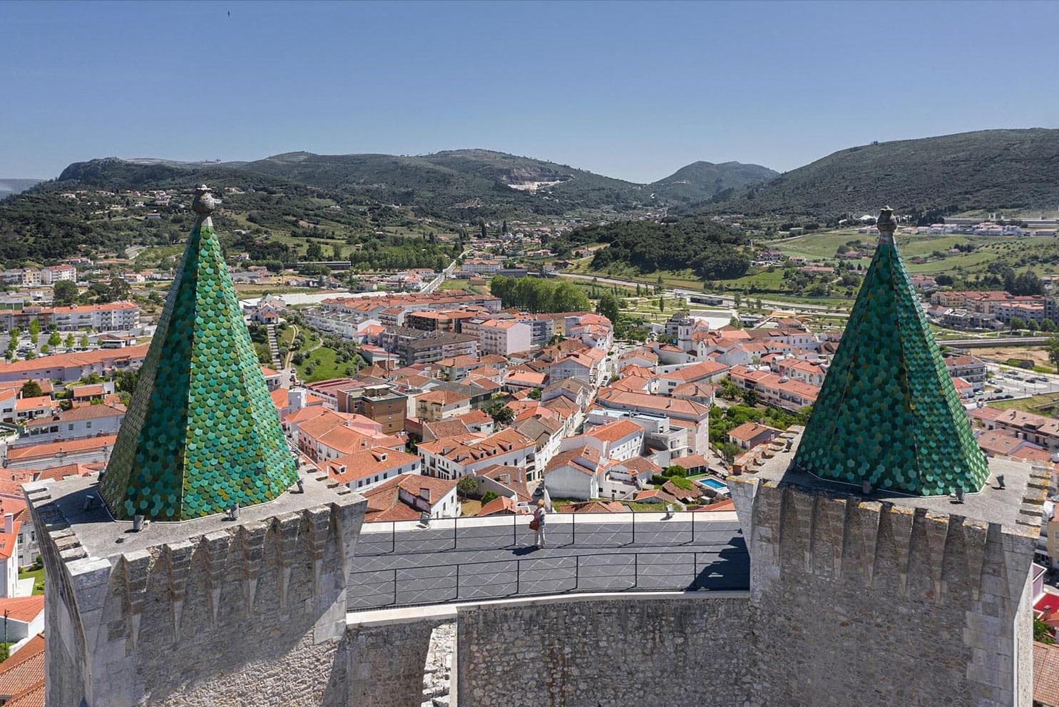 Castelo de Porto de Mós - Slabstone - Panoramica