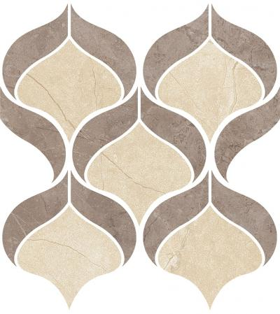 Mosaic Shell Fior di Bosco Tortora