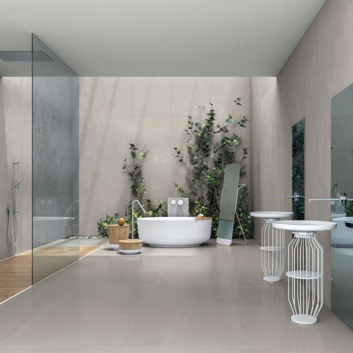 Kerlite Cement Project Color-20 Cem 100x300 NR